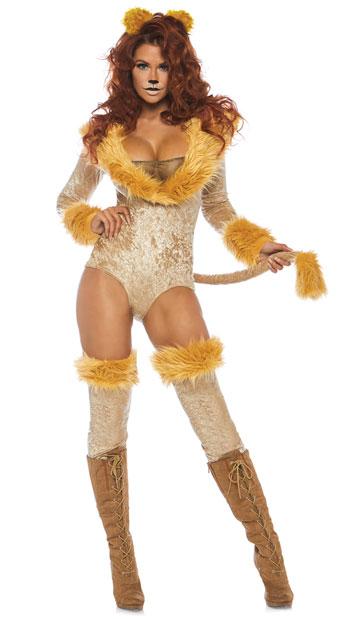 ラブリーライオネス レディースコスチューム 3点セット LEG AVENUEレッグアベニューコスプレ衣装 かわいい 仮装・ハロウィン・パーティー 大人女性