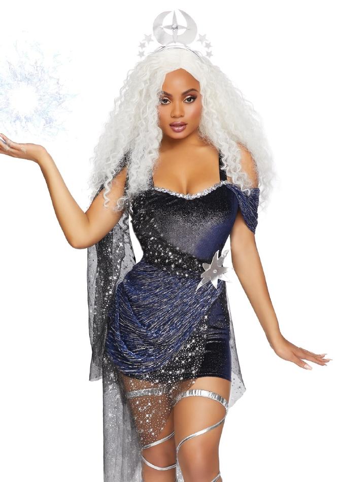 ムーンゴッドネス 月の女神 レディース用 ハロウィンコスチューム 2点セット 仮装 LegAvenueレッグアベニュー