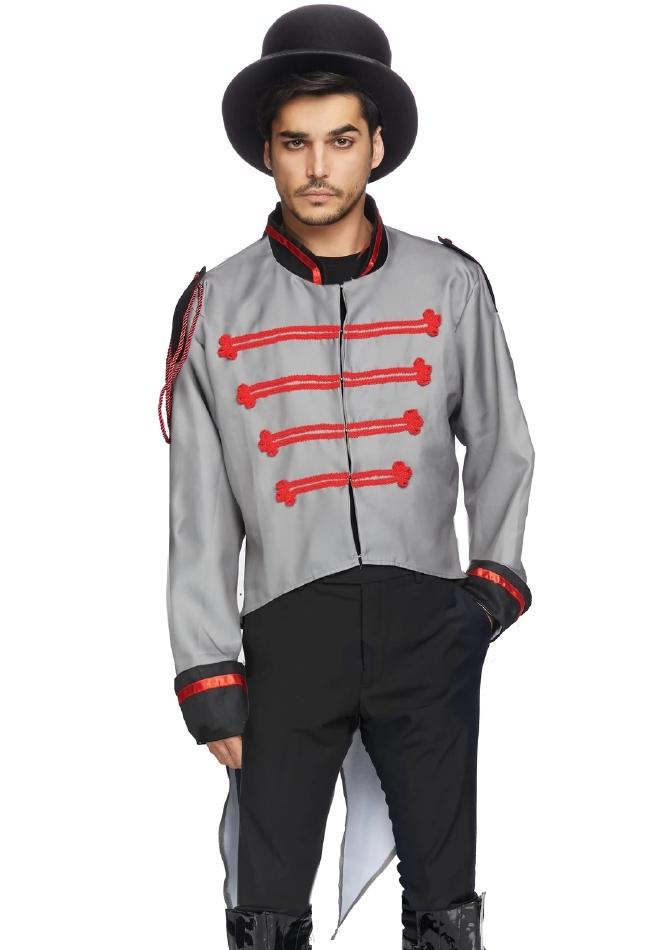 ミリタリージャケット メンズ用 ハロウィンコスチューム 仮装 LegAvenueレッグアベニュー