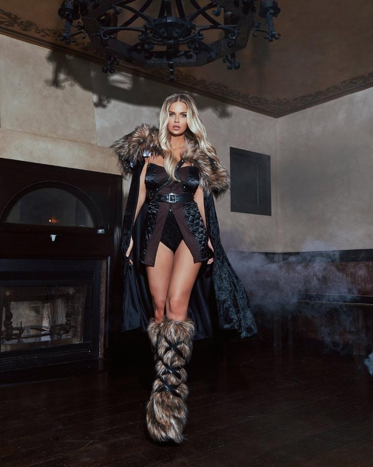 ノーザン ウォーリアー 北欧 戦士 4点セット ハロウィン コスチューム 仮装 大人女性レディース Roma
