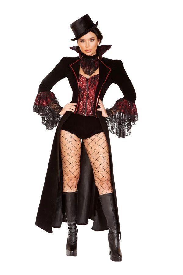 ラスティ ヴァンパイア 4点セット ハロウィン コスチューム 仮装 大人女性レディース Roma