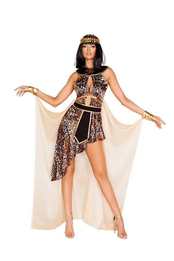 エキゾチッククレオ クレオパトラ 3点セット ハロウィン コスチューム 仮装 大人女性レディース Roma