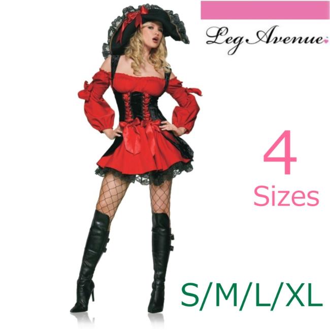 83157セクシー♪女パイレーツ 海賊コスチューム コスプレ衣装 パーティー ハロウィン /レッグアベニュー コスプレ・仮装・ハロウィン・女性・大人用