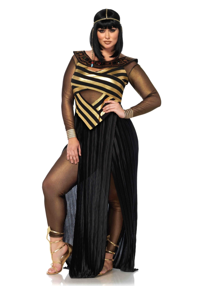 【大きいサイズ】ナイルの女王のコスチューム3点セット 仮装コスチューム コスプレ /LEG AVENUEレッグアベニュー コスプレ・仮装・ハロウィン・女性大人用