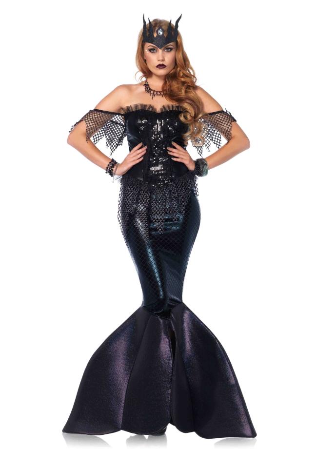 闇の世界の人魚姫のコスチューム2点セット 仮装コスチューム コスプレ /LEG AVENUEレッグアベニュー コスプレ・仮装・ハロウィン・女性大人用
