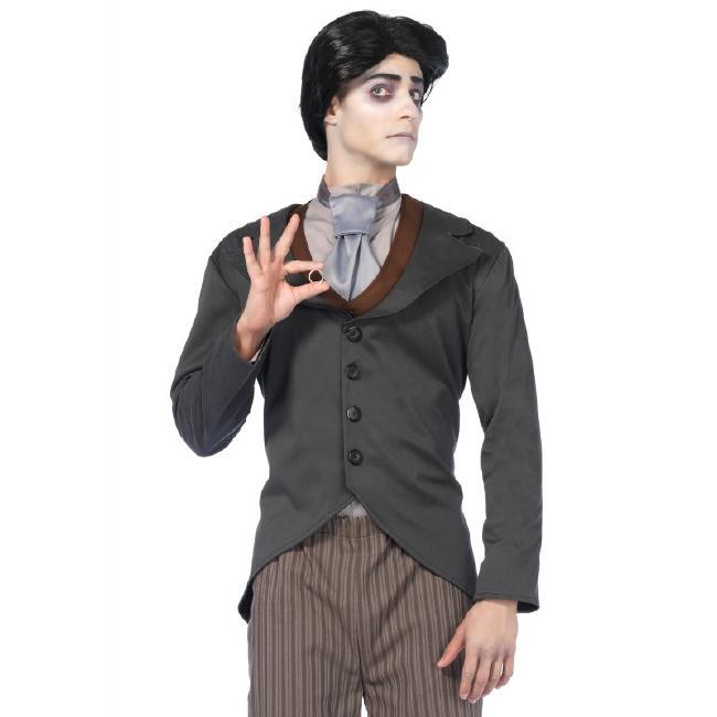 メンズ ビクター ハロウィンコスチューム 4点セットLegAvenueレッグアベニュー 男性用 コスプレ衣装 (二次会、仮装、パーティー、ハロウィン)大人男性用