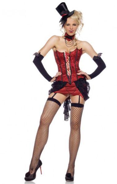 83425セクシー♪ラブ・バイト・ヴァンパイア バンパイア吸血鬼 コスチューム コスプレ衣装 パーティー ハロウィン /レッグアベニュー コスプレ・仮装・ハロウィン・女性・大人用