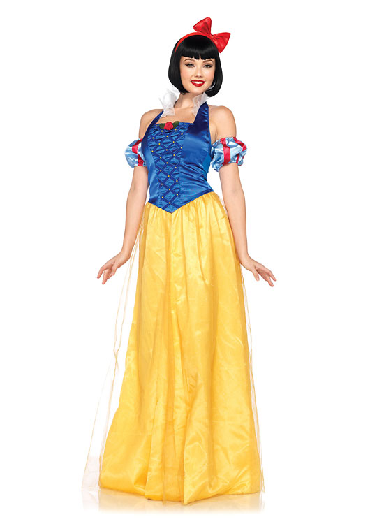 dp85070ディズニープリンセス 白雪姫 3ピースセット ディズニーコスチューム  仮装コスチューム コスプレ /LEG AVENUEレッグアベニュー コスプレ・仮装・ハロウィン・女性・大人用