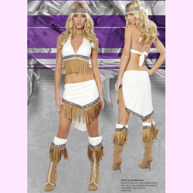 4297 ウルフハンター 5ピースセット パーティー ハロウィン 衣装 /Roma Costumeローマ コスプレ・仮装・ハロウィン・女性・大人用