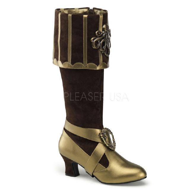 CTHULHU-299ブーツ 3.75インチ(約9.5cm) ハイヒール /Pleaserプリーザー コスプレ靴 ハロウィン 仮装 大きい