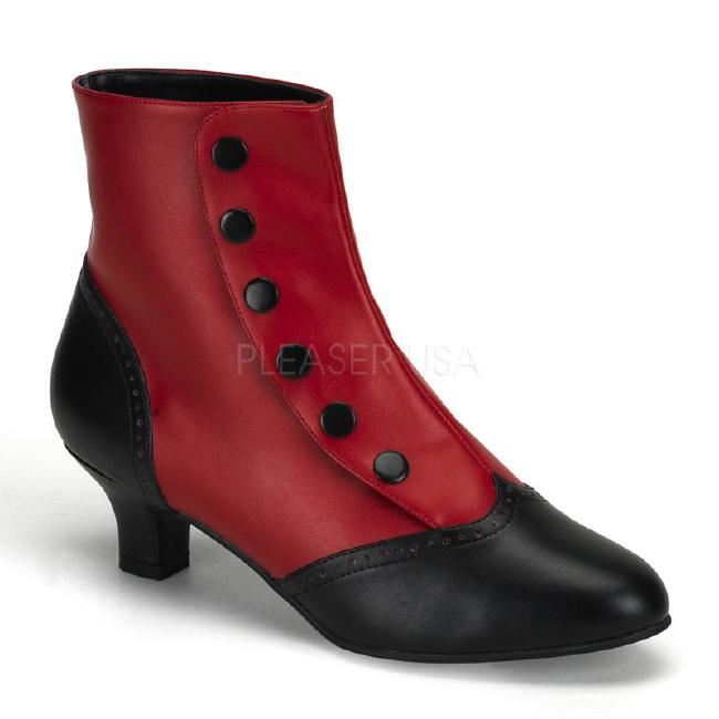 FLORA-1023 2インチ(約5cm) ヒール ブーティーブーツ /Pleaserプリーザー バーレスクBORDELLO パーティー 靴 小さい大きいサイズ