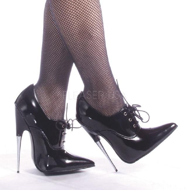 SCREAM-18 6インチ(約15cm) ハイヒールピンヒール パンプス/Pleaserプリーザー DEVIOUSフェティッシュ靴 フェチ SMボンデージ 大きい