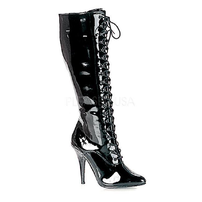 SEDUCE-2020 5インチ(約13cm) ニーハイブーツ /Pleaserプリーザー パーティードレス 靴 大きいサイズ