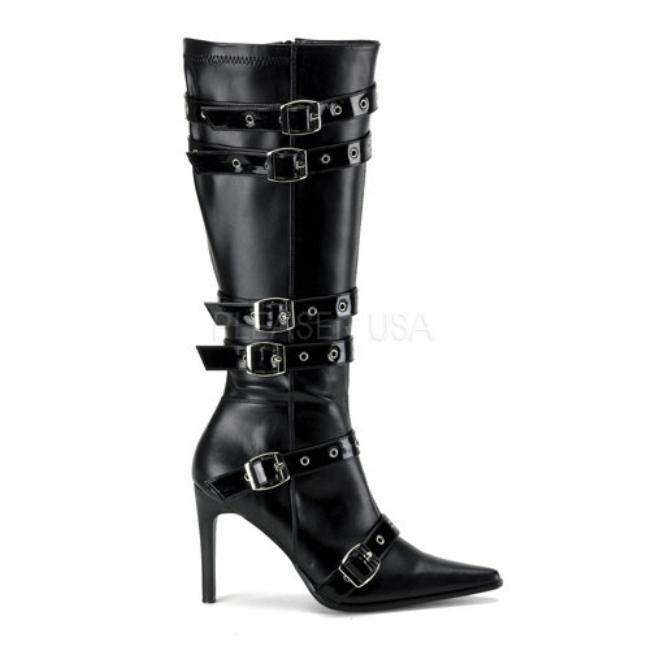 SPICY-138 ブーツ 3.75インチ(約9.5cm) ハイヒール /Pleaserプリーザー コスプレ靴 ハロウィン 仮装 大きい