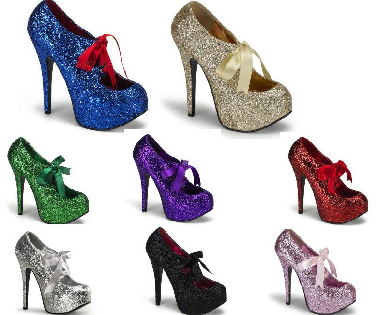 TEEZE-10G 5.5インチ(約14cm) ハイヒール パンプス /Pleaserプリーザー バーレスクBORDELLO パーティー 靴 小さい大きいサイズ