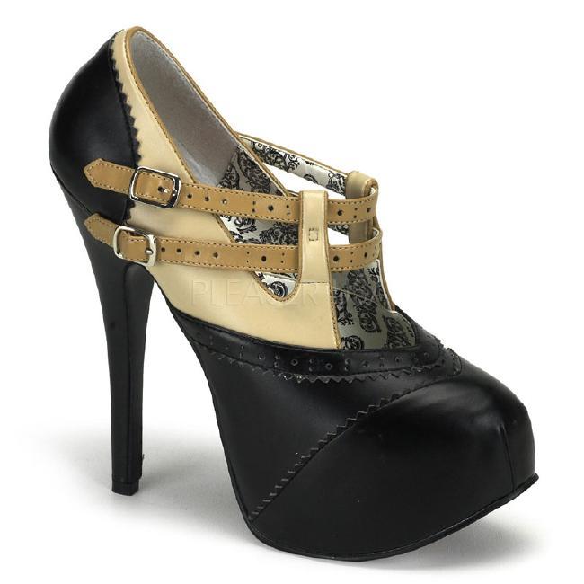 TEEZE-24 5.5インチ(約14cm) ハイヒール パンプス /Pleaserプリーザー バーレスクBORDELLO パーティー 靴 小さい大きいサイズ