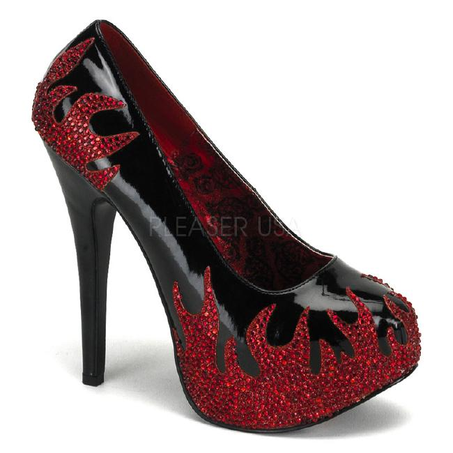 TEEZE-27 5.5インチ(約14cm) ハイヒール パンプス /Pleaserプリーザー バーレスクBORDELLO パーティー 靴 小さい大きいサイズ