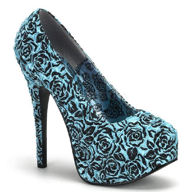 TEEZE-39 5.5インチ(約14cm) ハイヒール パンプス /Pleaserプリーザー バーレスクBORDELLO パーティー 靴 小さい大きいサイズ