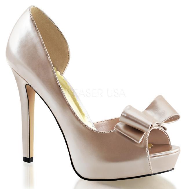 LUMINA-32 4.75インチ(約12cm)ハイヒール 厚底サンダル /Pleaserプリーザー パーティー 靴 大きいサイズ