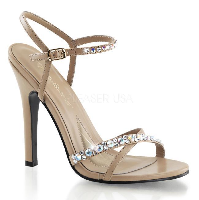 MELODY-15 4.5インチ(約11.5cm) ハイヒール 厚底サンダル /Pleaserプリーザー パーティー 靴 大きいサイズ