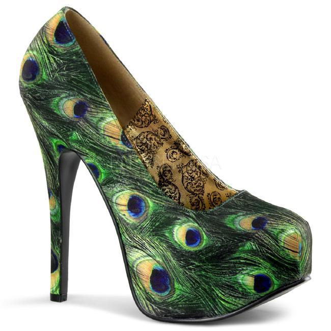 TEEZE-06-5 5.75インチ(約14.5cm)ハイヒール パンプス /Pleaserプリーザー パーティー 靴 大きい シンデレラサイズ