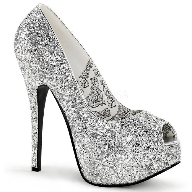 TEEZE-22G 5.75インチ(約14.5cm)ハイヒール パンプス /Pleaserプリーザー パーティー 靴 大きい シンデレラサイズ