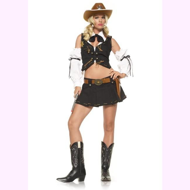 53203 ウエスタンなカウガールコスチューム コスプレ衣装 パーティー ハロウィン /レッグアベニュー コスプレ・仮装・ハロウィン・女性・大人用
