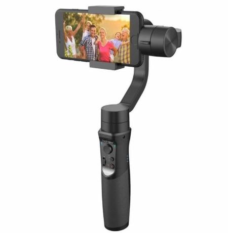 スタビライザー スマホ iPhone用 hohem iSteadyMobile 3軸ジンバル 追跡 手振れ防止 手持ち 追いかける 動画撮影 アプリ 送料無料