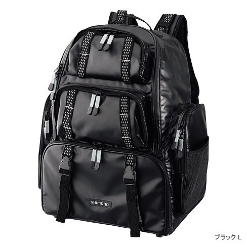 ●シマノ システムバッグXT DP-072K ブラック Lサイズ(74793)