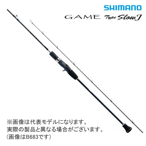 ●シマノ ゲーム タイプ スローJ GAME TypeSlowJ B684 (34819)
