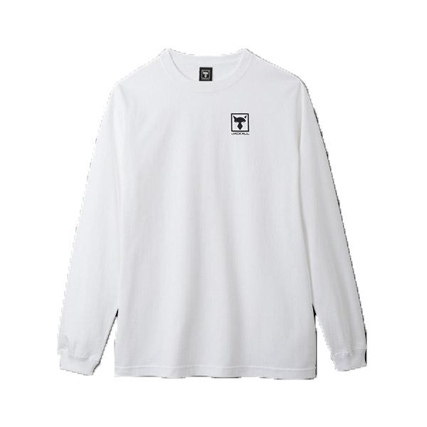 ジャッカル ロングスリーブTシャツ ホワイト 【まとめ送料割】 【メール便配送可】