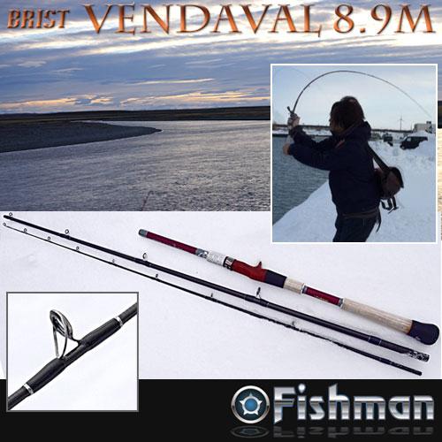 ●Fishman フィッシュマン BRIST ブリスト VENDAVAL ベンダバール 8.9M