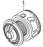 ダイワ 14モアザンLBD2510PE-SH 4960652941563 用 純正標準スプール 新色 部品コード128818 SEAL限定商品 キャンセル及び返品不可商品 まとめ送料割