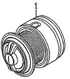 ●ダイワ XファイアLBD2510PE-SH(4960652936255)用 純正標準スプール (部品コード128803) 【キャンセル及び返品不可商品】 【まとめ送料割】