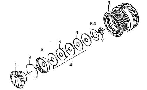 ●ダイワ 14エメラルダス MX2508PE-H(4960652950558)用 純正標準スプール (部品コード128831) 【キャンセル及び返品不可商品】 【まとめ送料割】