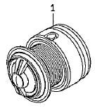 ●ダイワ 14インパルト3000H-LBD(4960652956086)用 純正標準スプール (部品コード128866) 【キャンセル及び返品不可商品】 【まとめ送料割】