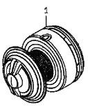 ●ダイワ 尾長モンスター4000LBD(4960652894494)用 純正標準スプール (部品コード128716) 【キャンセル及び返品不可商品】 【まとめ送料割】