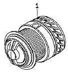 ●ダイワ 15銀狼LBD(4960652956055)用 純正標準スプール (部品コード128875) 【キャンセル及び返品不可商品】 【まとめ送料割】