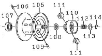 ●ダイワ Z2020HL(4960652784276)用 純正標準スプール (部品コード129498) 【キャンセル及び返品不可商品】 【まとめ送料割】