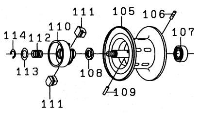 ●ダイワ Z2020SH(4960652784283)用 純正標準スプール (部品コード129498) 【キャンセル及び返品不可商品】 【まとめ送料割】