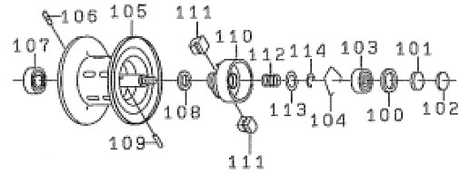 ●ダイワ Z2020SHL(4960652784290)用 純正標準スプール (部品コード129498) 【キャンセル及び返品不可商品】 【まとめ送料割】