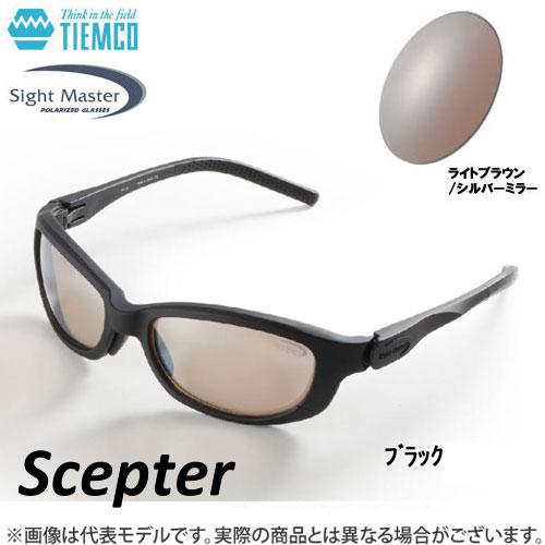 ●ティムコ サイトマスター セプター ブラック(ライトブラウン/シルバーミラー) 【まとめ送料割】