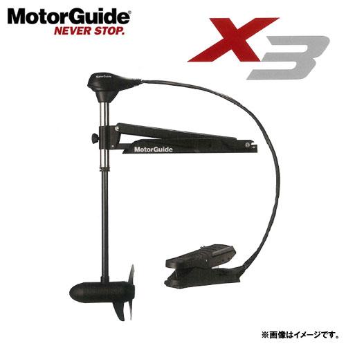 ●モーターガイド X3-55(5段) 45インチ ボイジャーバッテリー105A&充電器 (延長コード付き) (キサカ充電器)