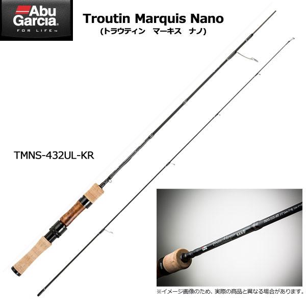 ●アブガルシア トラウティンマーキス ナノ TMNS-432UL-KR (スピニングモデル) 【まとめ送料割】