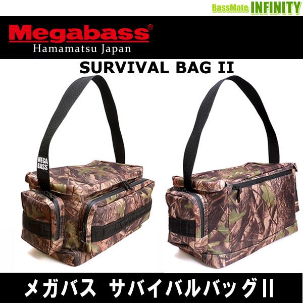 SURVIVAL BAG ll REAL CAMO Megabass