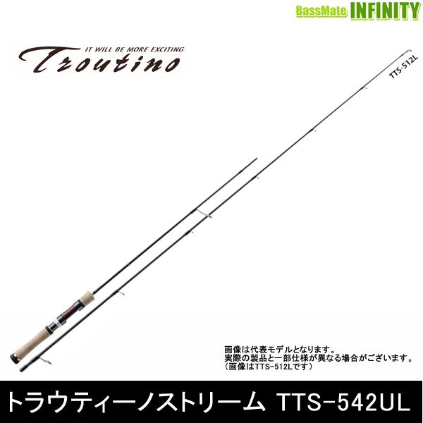 ●メジャークラフト トラウティーノ TTS-542UL (スピニングモデル)
