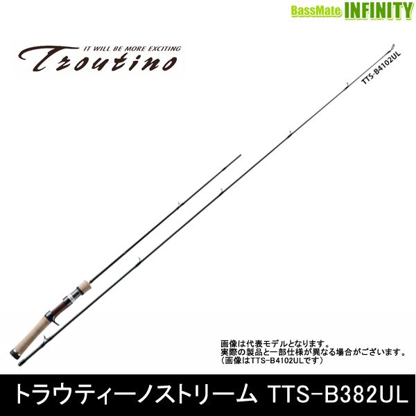 ●メジャークラフト トラウティーノ TTS-B382UL (ベイトモデル) 【まとめ送料割】