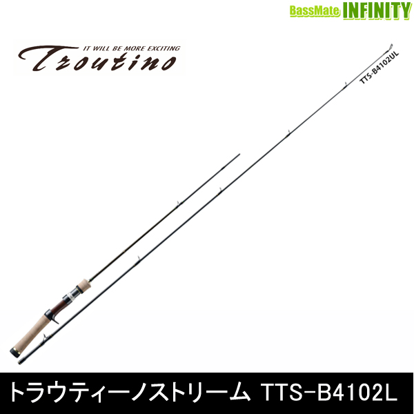 ●メジャークラフト トラウティーノ TTS-B4102UL (ベイトモデル) 【まとめ送料割】