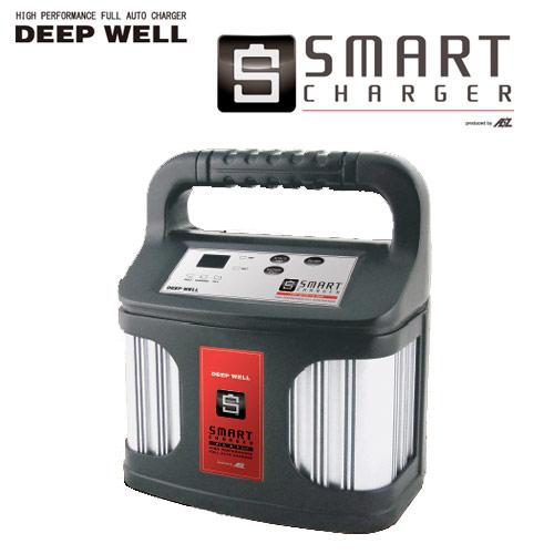 【送料無料】ACデルコ ボイジャー ディープサイクル バッテリー 充電器 ディープウェル DEEP WELL スマートチャージャー DW-15S 【まとめ送料割】