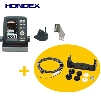 ●ホンデックス HONDEX PS-500C 電源コード・架台セット 【まとめ送料割】